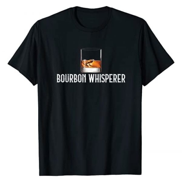 Gifts For Whiskey Lovers Graphic Tshirt 1 Bourbon Whisperer - Funny Whiskey Gifts With Sayings T-Shirt
