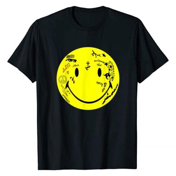 Lil Wayne Graphic Tshirt 1 Tattoo Smiley T-Shirt