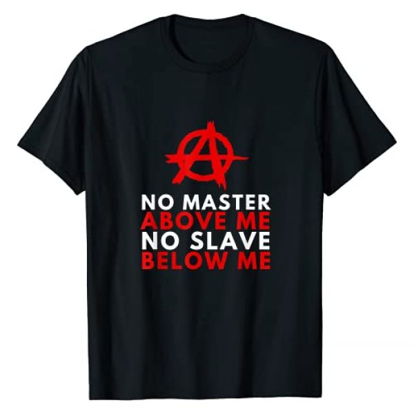 Anarchist Anarchy No Government Revolution Co. Graphic Tshirt 1 Anarchism Anarchist - No Master, No Slave Human Equality T-Shirt