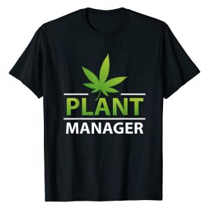 Cannabis Plant Manager Funny Marijuana Weed Gift Graphic Tshirt 1 Cannabis Plant Manager Funny Marijuana Weed Lovers Cool Gift T-Shirt