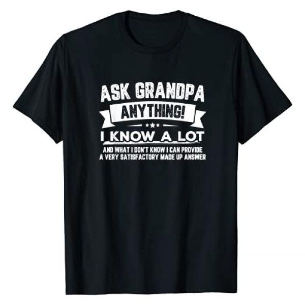 SmartGrandpa Clothing TreOri Graphic Tshirt 1 Funny Father's Day Shirt Gift 60th Ask Grandpa Anything T-Shirt