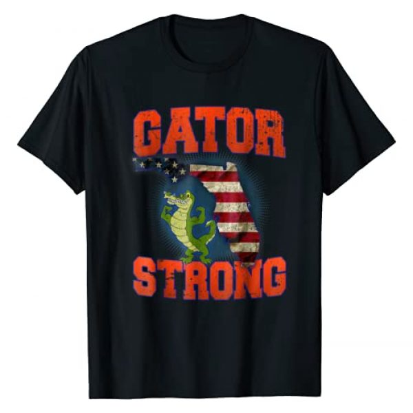Gator Strong Tee's Graphic Tshirt 1 Gator Strong Florida State Gator T-Shirt