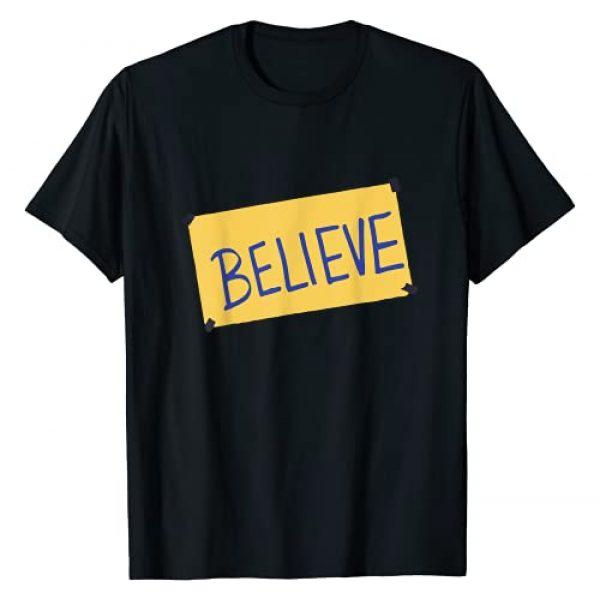 Believe, Funny soccer, coach lasso, motivational Graphic Tshirt 1 Funny soccer, Coach ted lasso, Believe, Football, Motivation T-Shirt