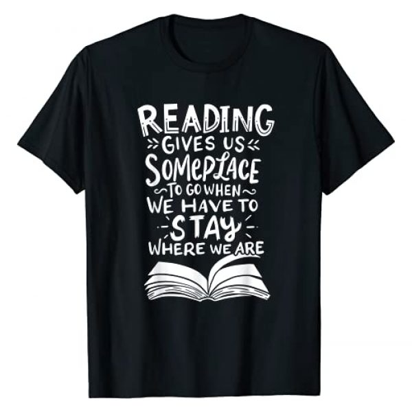 Reading Reading Reading Graphic Tshirt 1 Reading Reader Book Lover Literature Library Month Gift T-Shirt