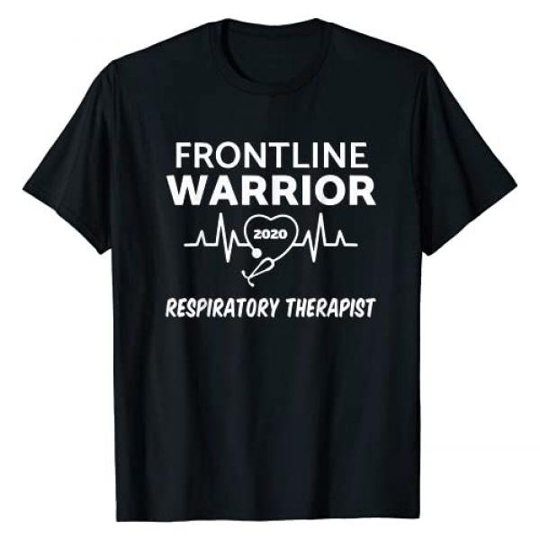 Funny Frontline Warrior 2020 Tee Shirt Graphic Tshirt 1 Frontline Warrior 2020 Respiratory Therapist T-Shirt