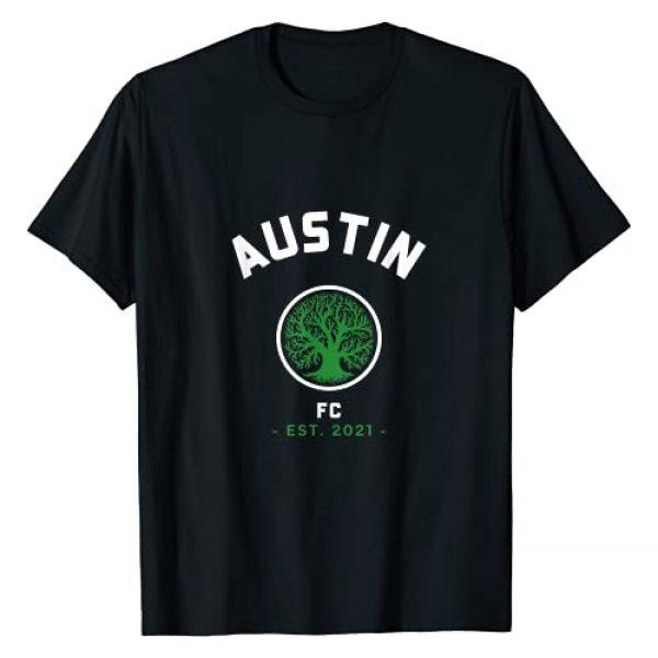 Austin Soccer Team Graphic Tshirt 1 FC Texas T-Shirt