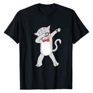 Caterpillar Graphic Tshirt 1 Dabbing Cat T-Shirt Funny Dab Gift Cat Tee T-Shirt