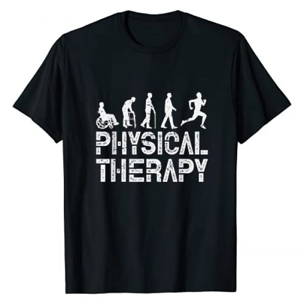 Evolution Of Physical Therapy PT Gift Graphic Tshirt 1 Evolution Of Physical Therapy PT Gift T-Shirt