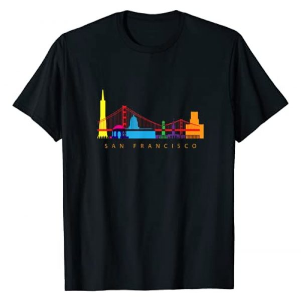 A Better Place - Geography Inspired Tees Graphic Tshirt 1 San Francisco, California, USA Skyline Souvenir T-Shirt
