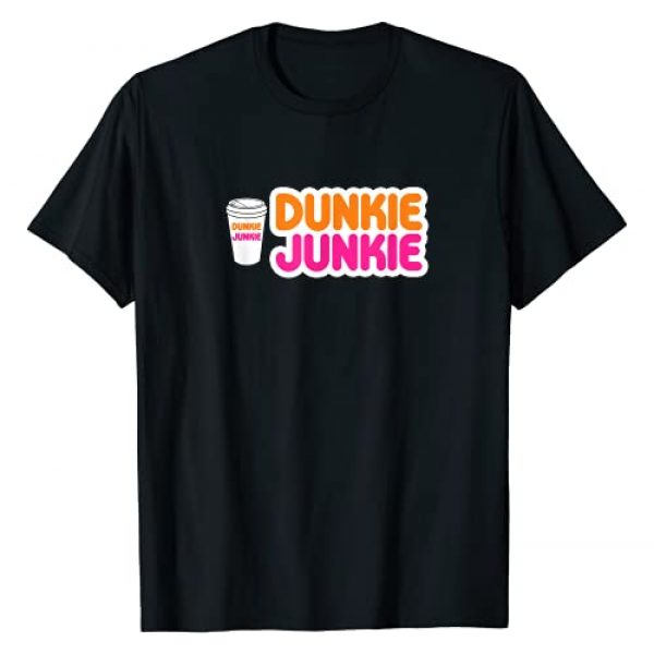 Funny Coffee Lovers Gift Apparel Graphic Tshirt 1 Funny Dunkie Junkie Coffee Love Funny Coffee Saying T-Shirt