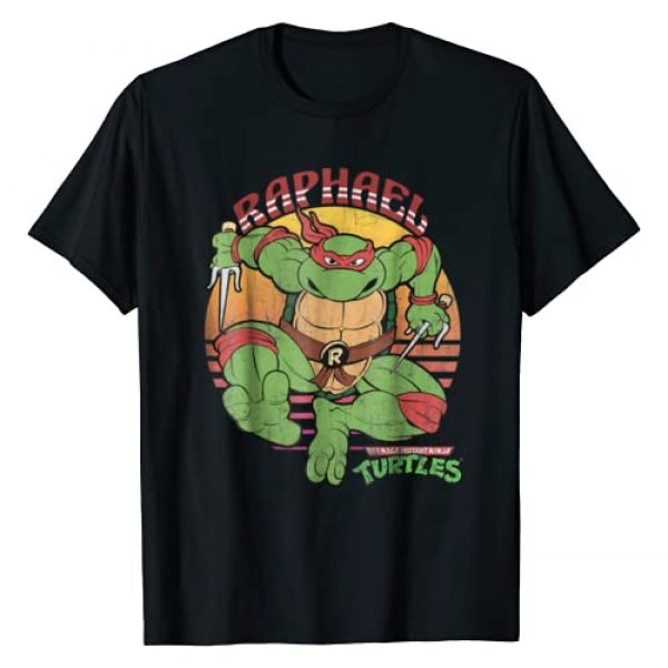 Teenage Mutant Ninja Turtles Graphic Tshirt 1 Raphael Sun Tee-Shirt