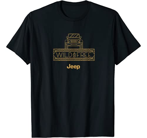 Jeep Graphic Tshirt 1 Wild and Free T-Shirt