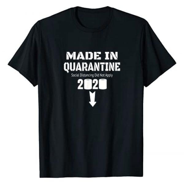 Funny Pregnancy Announcement Tee Shirt Gifts Idea Graphic Tshirt 1 Pregnancy Announcement Shirts Women 2020 Quarantine Mom Dad T-Shirt