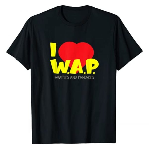 Tee4Tu  Cookie Money Design Graphic Tshirt 1 I (heart) W.A.P. - Food Appreciation Apparel T-Shirt