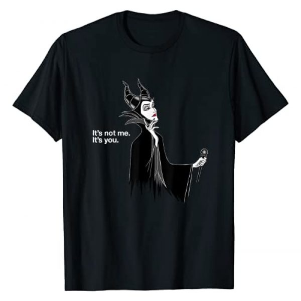 Disney Graphic Tshirt 1 Villains Maleficent It's Not Me It's You T-Shirt