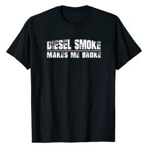 Diesel Graphic Tshirt 1 Funny Diesel Truck Owner Gifts, Diesel Smoke Makes Me Broke T-Shirt