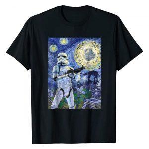 Star Wars Graphic Tshirt 1 Stormtrooper Starry Night Graphic T-Shirt C1