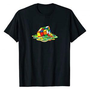 DragonusFashion Graphic Tshirt 1 Melting Cube T-Shirt