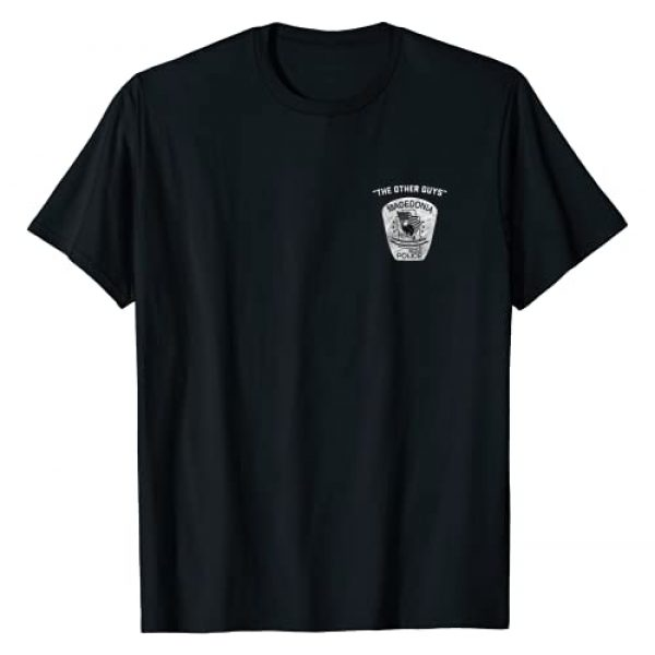 MPD Graphic Tshirt 1 The Other Guys Macedonia Police T-Shirt