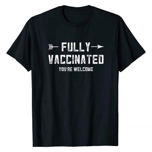 Vaccine Awareness Shirts Co Graphic Tshirt 1 Pro Vaccination Fully Vaccinated Pro Vax Immunization Nurse T-Shirt