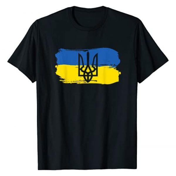 Ukrainian Art Flag Clothing Graphic Tshirt 1 Ukraine Ukrainian Flag Ukrainians Gift T-Shirt