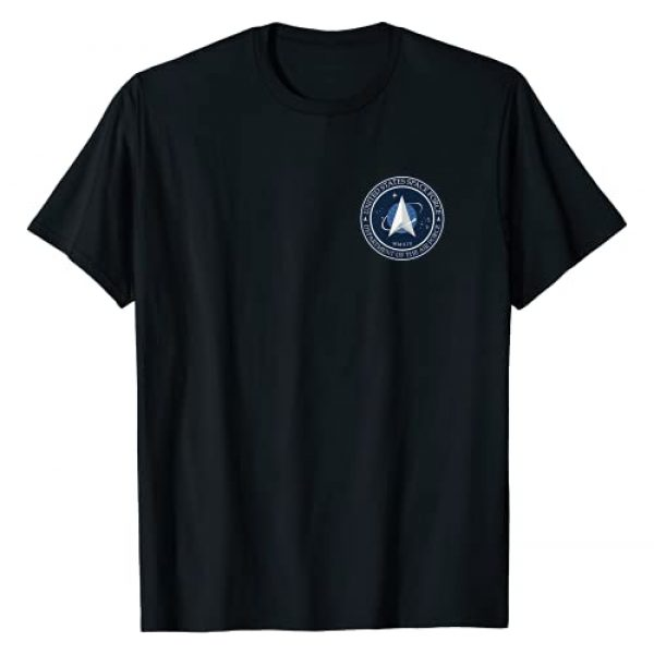 Space Force Apparel Graphic Tshirt 1 United States Space Force Pocket Emblem T-Shirt