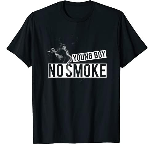 "YoungBoy - No Smoke t-shirt Graphic Tshirt 1 ""YOUNGBOY - NO SMOKE"" Stop Smoking | Healthy life Shirt T-Shirt"
