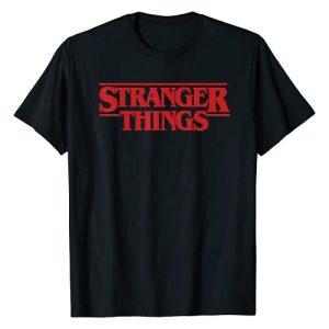 Stranger Things Graphic Tshirt 1 Netflix Stranger Things Simple Red Logo T-Shirt