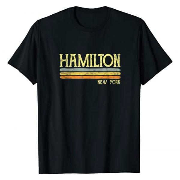 Retro Hamilton . Graphic Tshirt 1 Vintage Hamilton New York NYC Gift Love Souvenir Merchandise T-Shirt