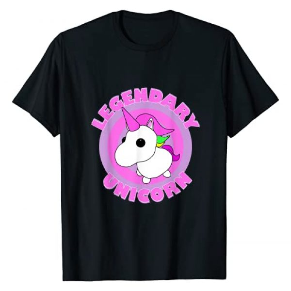The Gaming Graphic Tshirt 1 The Legendary Unicorn Adopt Me Gaming Team T-Shirt