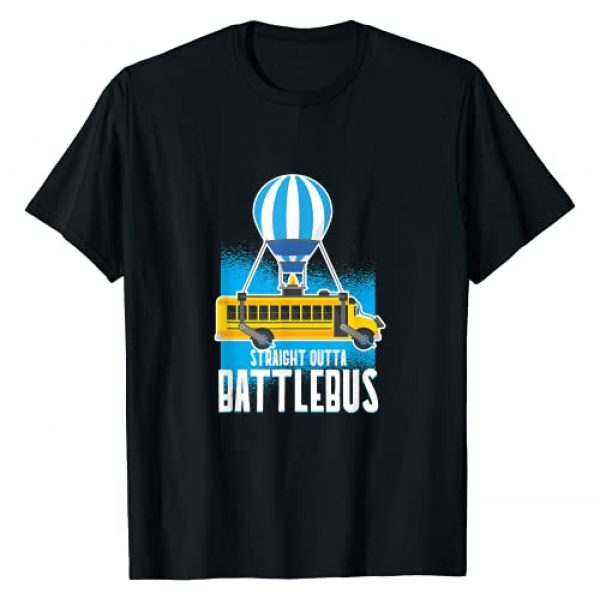 Cool Video Gamer Battlebus Gifts Graphic Tshirt 1 Straight Out The BattleBus Gamer Video T-Shirt