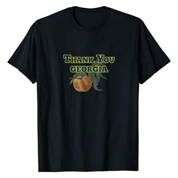 JumpJammies Tees and Things Graphic Tshirt 1 Thank You Georgia T-Shirt