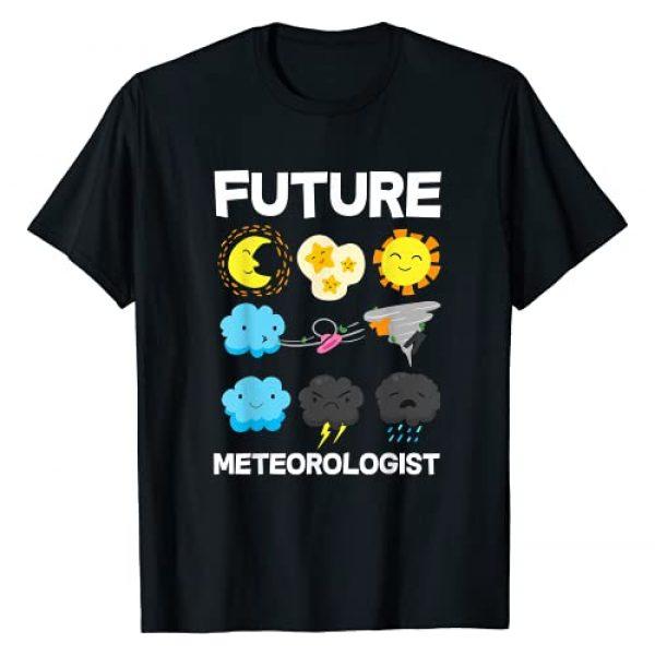 Meteorology Meteorologist Weathermen Storm Chaser Graphic Tshirt 1 Kids Future Meteorologist Weather Forecast T-Shirt
