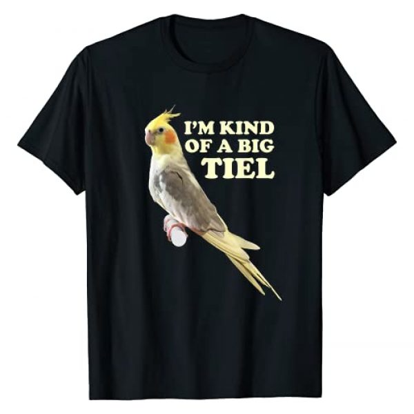 Birb Joke Humor Co. Graphic Tshirt 1 Funny Cute Cockatiel Gift For Women Men Parrot Lover T-Shirt