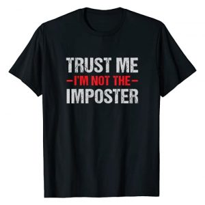 CC Gamer Gaming Gifts Graphic Tshirt 1 Funny Gamer Mobile Game Gag Gift I'm Not Imposter T-Shirt