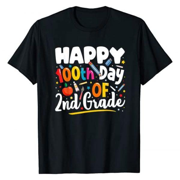 100 Days of School 2nd Grade Teacher Shirts Graphic Tshirt 1 100 Days of School Shirt Teacher Gift 100th Day of 2nd Grade T-Shirt