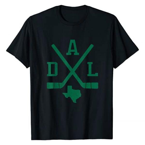 Retro Dallas Sports Team Apparel Graphic Tshirt 1 Retro Dallas Hockey Sticks Vintage Star Fan Gift T-Shirt