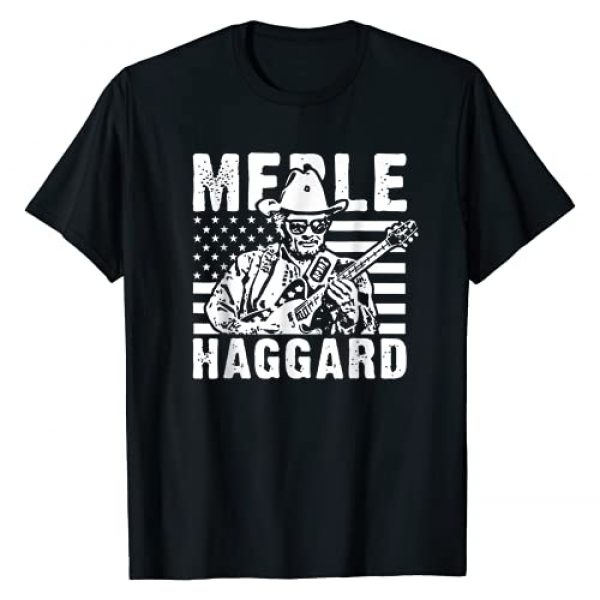 Tee Merle retro Graphic Tshirt 1 Graphic Love Merle Retro Haggard Country legend T-Shirt