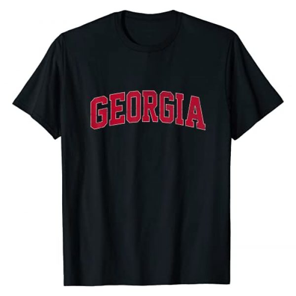 Athens Georgia Vintage Shirts Graphic Tshirt 1 Georgia GA vintage Athletic Style T-Shirt