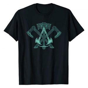 Assassin's Creed Graphic Tshirt 1 Valhalla Axes Logo T-Shirt