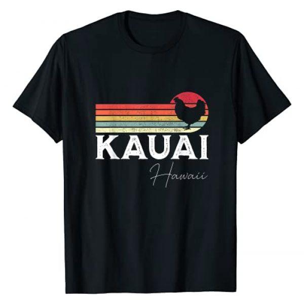 Kauai Hawaii Clothing Graphic Tshirt 1 Kauai Hawaii Chicken Lover Souvenir Gift T-Shirt