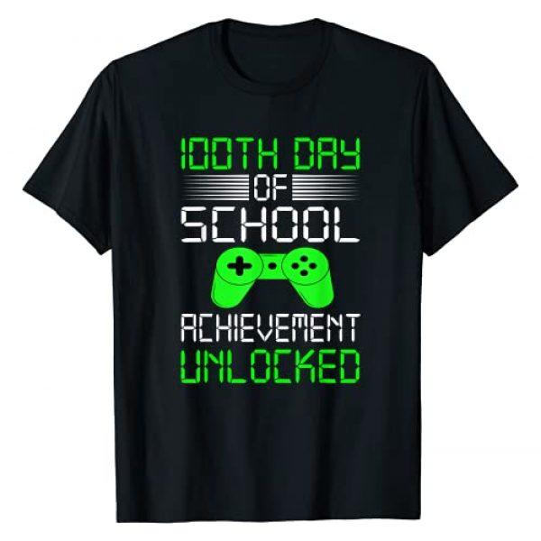 Kids: 100th Day Of School T-Shirt Graphic Tshirt 1 100th Day Of School T-Shirt For Kids T-Shirt