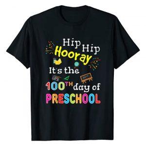100th Day Of School Kids Shirts & Teacher Gifts Co Graphic Tshirt 1 100 Days Of School Gift For Kids Boys Preschool Teacher T-Shirt