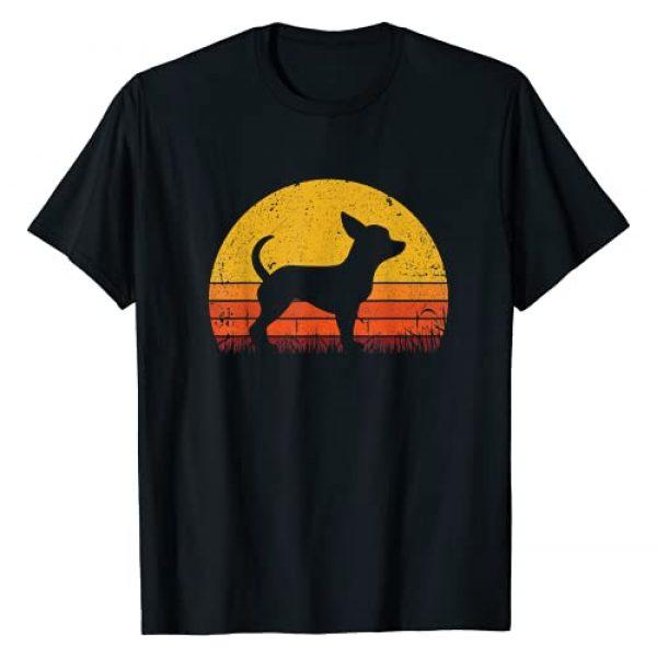 Mejeo Graphic Tshirt 1 Retro Chihuahua Shirt Dog Mom Dog Dad Gift Vintage Chihuahua T-Shirt