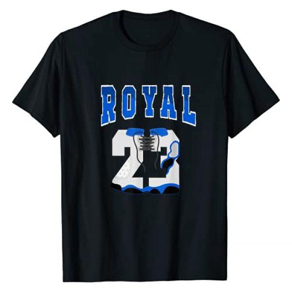 Tee To Match Sneaker Graphic Tshirt 1 23 Designed To Match Jordan 13 Royal T-Shirt