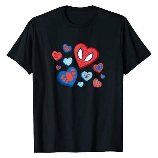 Marvel Graphic Tshirt 1 Spider-Man Spidey Hearts Valentine's Day T-Shirt