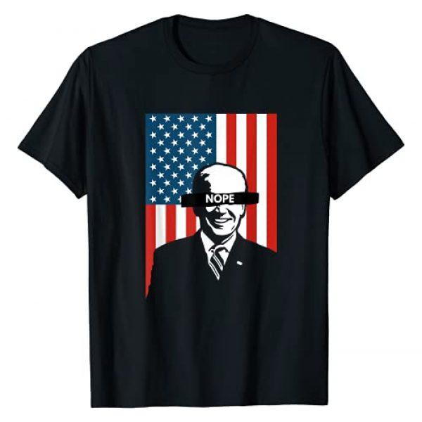 Nope not my President, Anti Joe Biden Graphic Tshirt 1 Biden is not my President T-Shirt