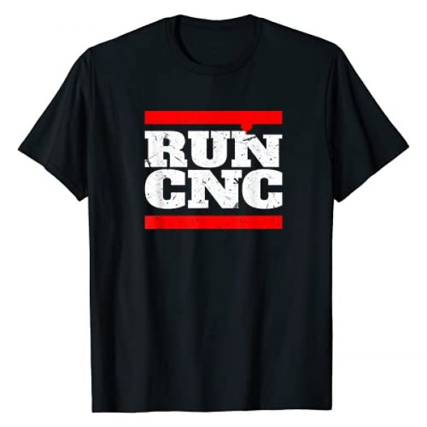 Engineering CNC Professional Shirt Graphic Tshirt 1 RUN CNC Shirt Funny CNC Machinist Shirt For Men Vintage T-Shirt