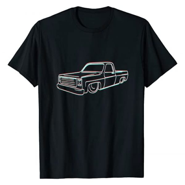 All About Classic And Vintage Tees Graphic Tshirt 1 Vintage Square Body Truck For Classic Collectors T-Shirt