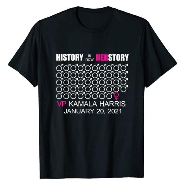 Herstory Inauguration Day 2021 VP Kamala Harris Graphic Tshirt 1 Herstory Inauguration Day 2021 VP Kamala Harris T-Shirt